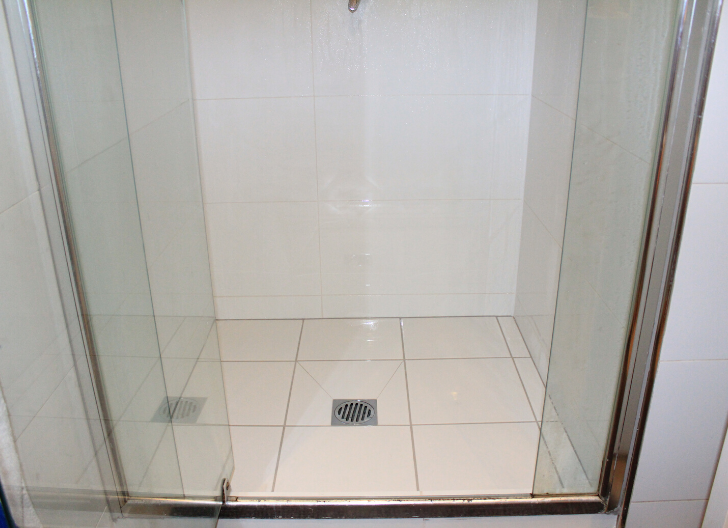Completed Leaking Shower