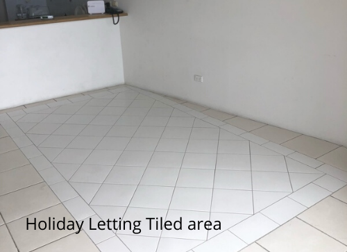 Holiday Letting Tiled area
