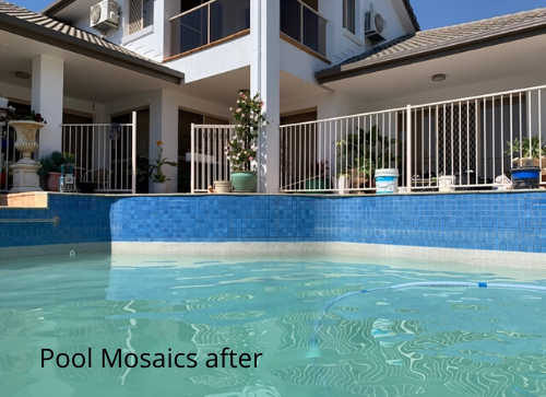 Pool Mosaics after
