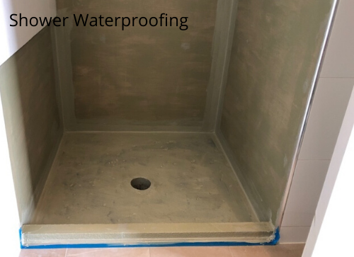 Shower Waterproofing