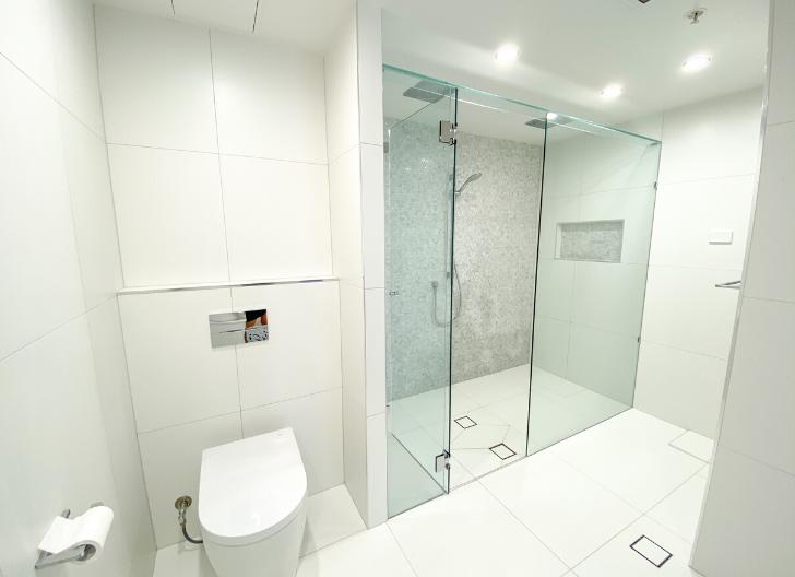 Bathroom Renovation Aria Building