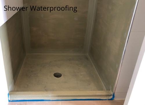 Shower Waterproofing